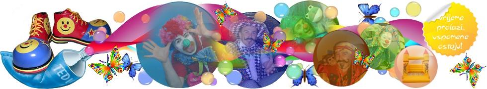 Iznenadjenje za rodjendan ZA DJECU RADOST klaun orgINALNOST