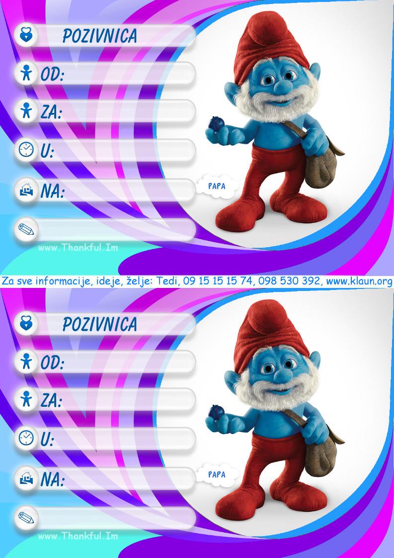 pozivnice za rođendan dječji Index of /za rodjendan/djecji animatori Strumpfovi pozivnice pozivnice za rođendan dječji