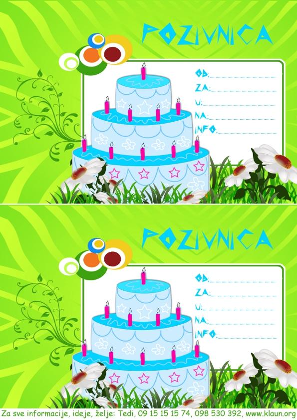 pozivnica rođendan Index of /za rodjendan/torta za rodjendan pozivnica pozivnica rođendan